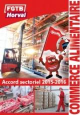 Accord sectoriel 2015-2016 (CP 119)