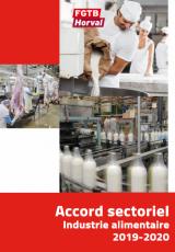 Accord sectoriel 2019-2020 (CP118)