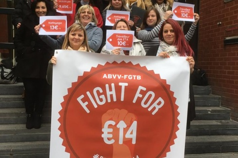 Actie Fight For 14 - januari