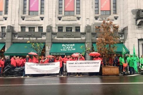 Stop aux discriminations des ouvriers de la CP100