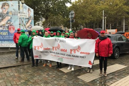 Pensioen-acties gemeenschappelijke front oktober 2018