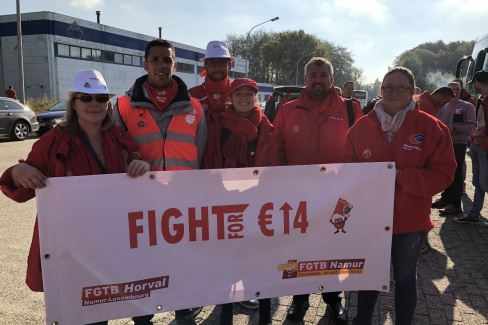 Fight for €14