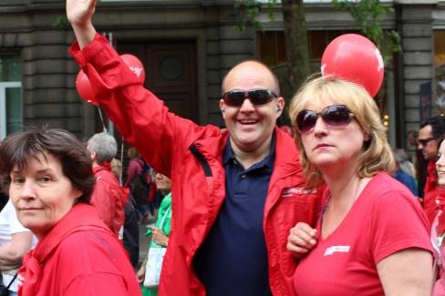 Manifestation pension