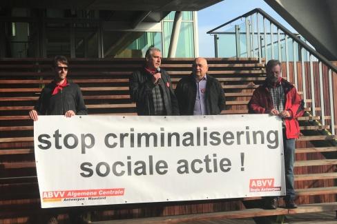 STOP criminalisering sociale acties